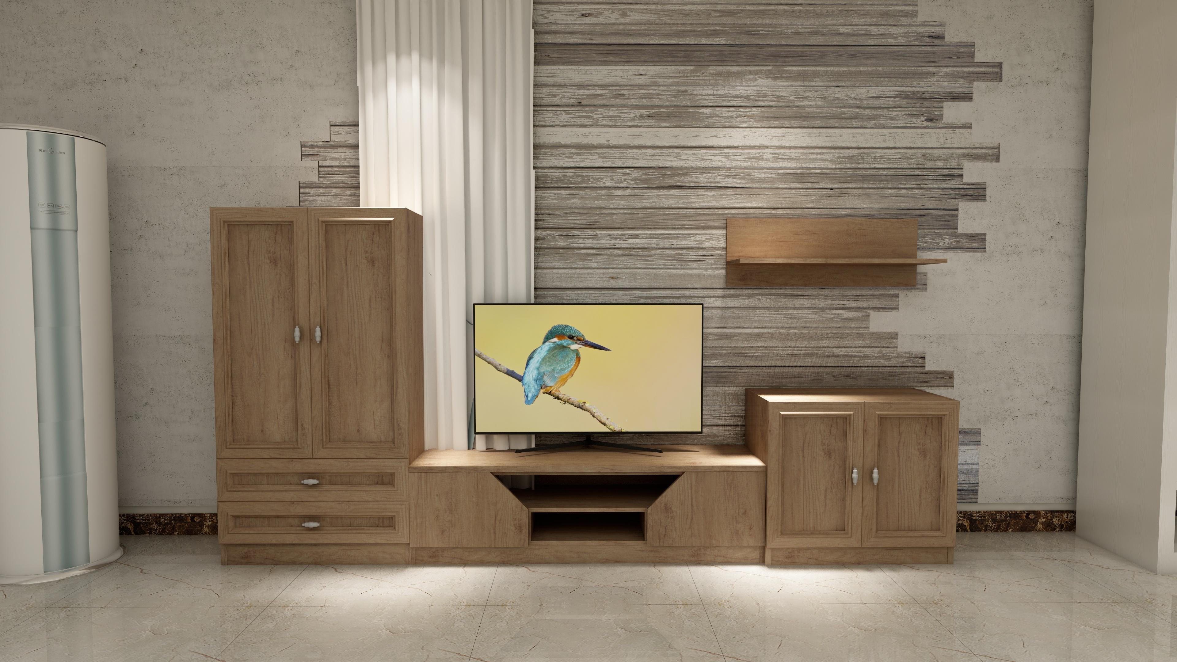 欧式客厅全铝电视机柜